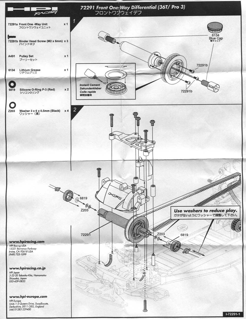 HPI Manuals